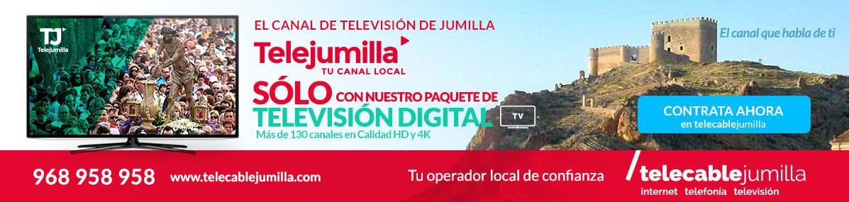Fibra óptica de Telecable Jumilla