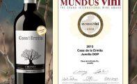 Casa de la Ermita Crianza 2013 logra una medalla de oro en el concurso Mundus Vini