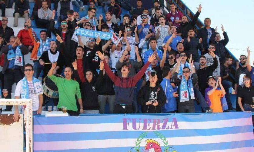 La Peña Fuerza Vinícola se desplazará hasta La Roda para animar al FC Jumilla