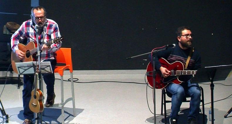 Han finalizado las III Jornadas 'Una educación para el siglo XXI' Con un concierto homenaje a Javier Krahe