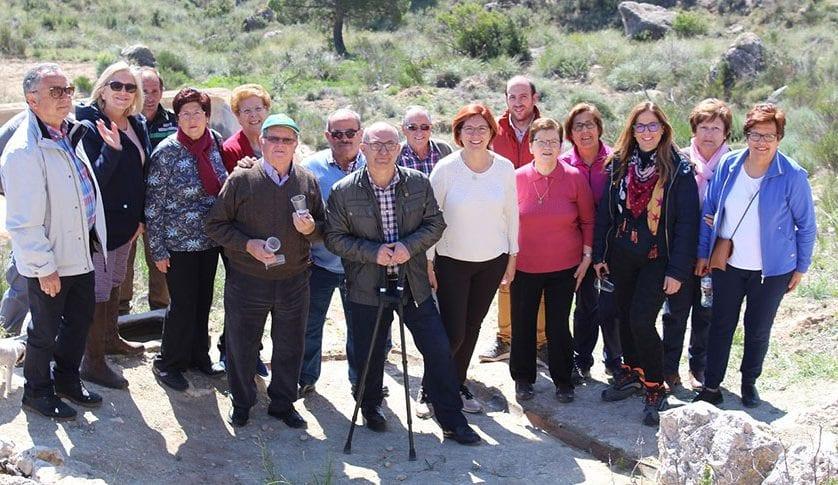 Presentadas las obras de restauración de la Fuente de Sopalmo de Jumilla
