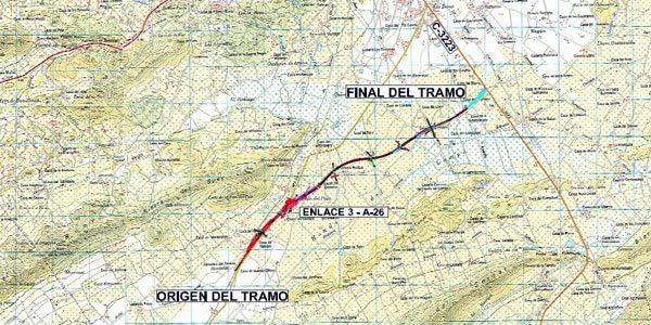 Autorizado un sobrecoste de 621.000€ en la A33 a su paso por Jumilla