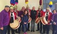 La Asociacion de Tambores Cristo de la Sangre estuvo en las XXXII Jornadas Nacionales del Tambor y el Bombo de Alcañiz