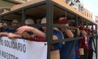El ensayo solidario de La Redención recolectó trescientos kilos de alimentos para Cáritas