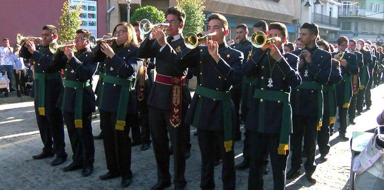 El VIII Certamen de Bandas de Cornetas y Tambores de la Cofradía de Jesús ante Herodes llenó el Vico de música semana santera