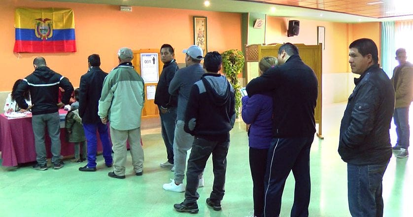 Los ecuatorianos residentes en la Región acudirán el domingo a la segunda vuelta electoral