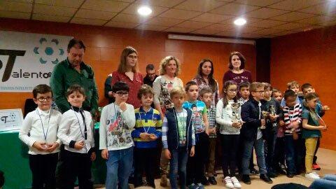 Victoria en sub-14 para el Club de Ajedrez Coimbra en el I Torneo 'Activa Talentos'