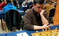 Alejandro Castellanos es el único representante del Club de ajedrez Coimbra en el Regional individual Absoluto