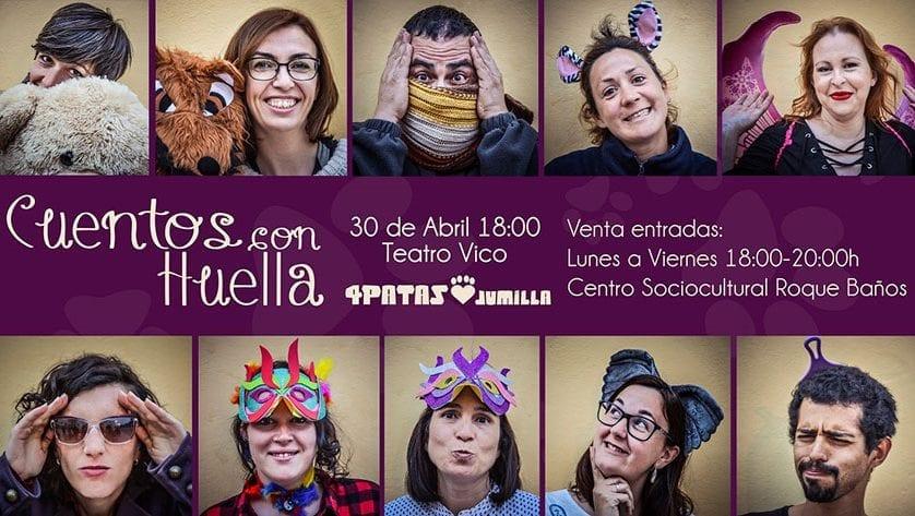 """El Teatro Vico acoge el próximo domingo la representación """"Cuentos con Huella"""""""