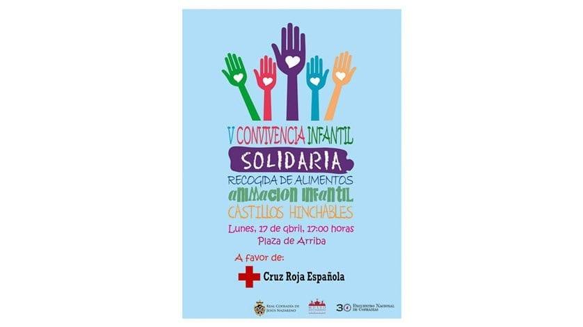 La V Convivencia Infantil Solidaria tendrá lugar el próximo lunes 17 de abril