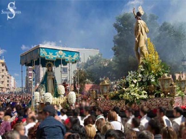 El Encuentro entre la Virgen Gloriosa y Jesús Resucitado será a ls 11'30 horas
