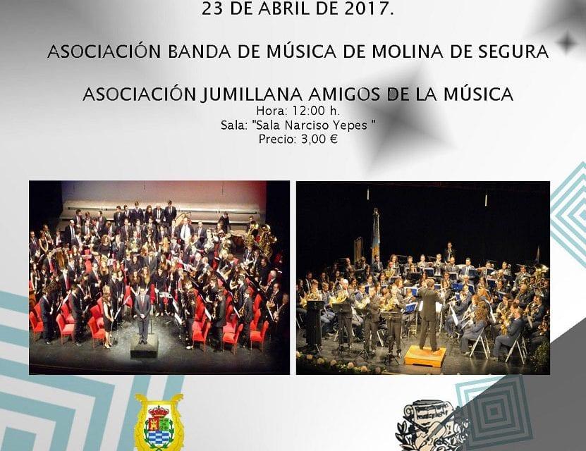La AJAM participará en el Ciclo de Bandas de Música del Auditorio Regional