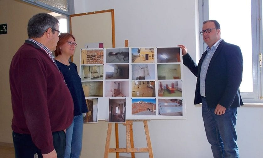 Finalizan las obras de rehabilitación del Centro Alpicoz en el que se han invertido casi cien mil euros