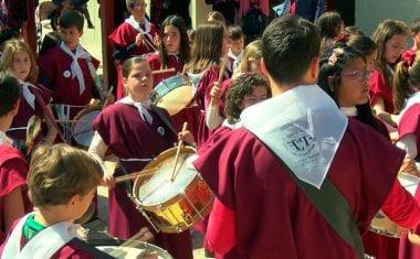 Las procesiones infantiles mantienen su compromiso con la Semana Santa jumillana