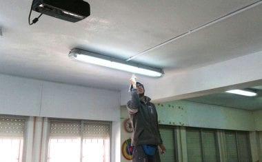Aprovechan la 'Semana Blanca' para realizar diferentes reparaciones de mantenimiento en los centros escolares de Jumilla