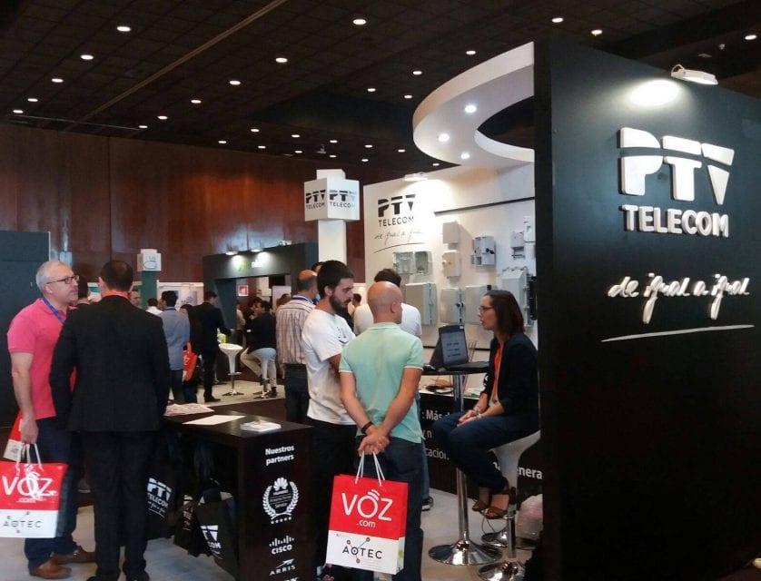 Telecable Jumilla presente en la Feria Tecnológica AOTEC