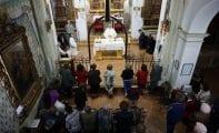El sábado el Monasterio de Santa Ana acogió un Encuentro de la Adoración Nocturna