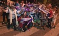 Aficionados madridistas de la localidad celebraron el 33 Campeonato de Liga del Real Madrid