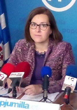 Alicia Abellán portavoz PP