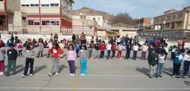 Alumnos colegio asuncion Jumilla