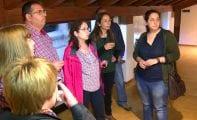 El artista jumillano Diego Martínez expone en la Casa del Artesano