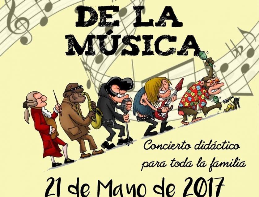 """La Asociación Musical Julián Santos ofrecerá un concierto didáctico con el título """"LAS EDADES DE LA MÚSICA"""""""