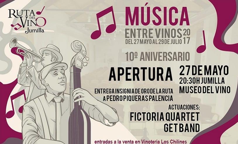 Mañana comienza  Música entre Vinos 2017