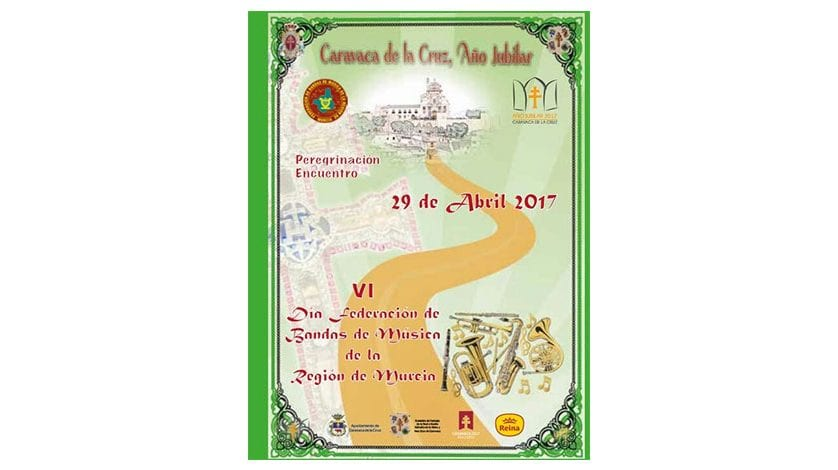 """La A.M.""""Julián Santos"""" y la AJAM participarán en la peregrinación del 'VI Día de la Federación de Bandas de Música de la Región de Murcia'"""