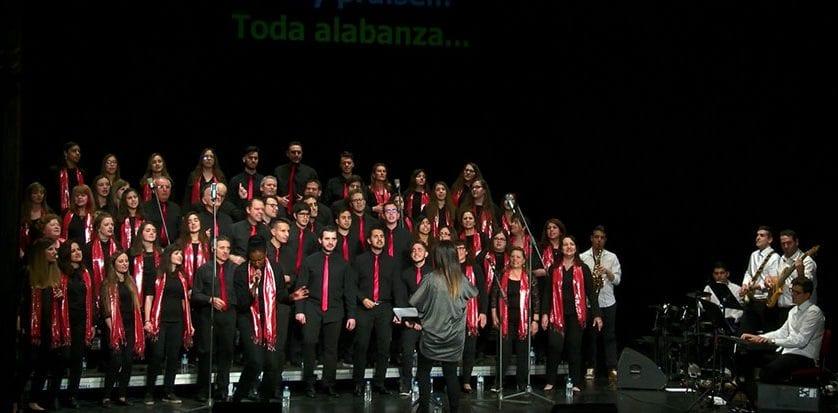 El concierto Gospel recaudó cerca de dos mil euros para Cruz Roja Jumilla