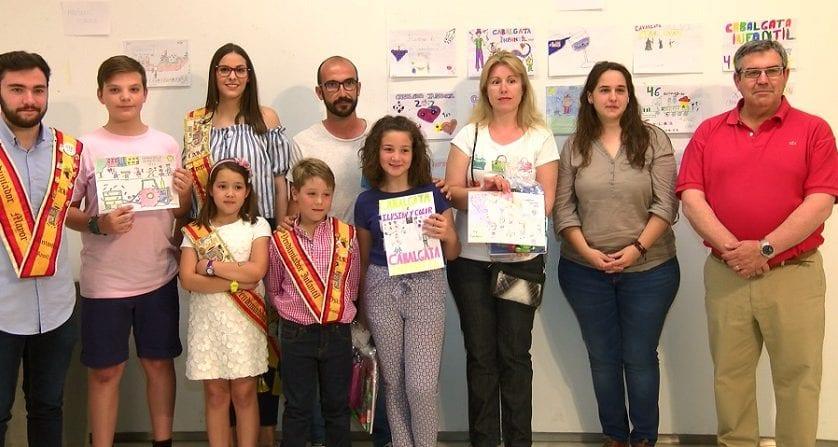 Esta tarde se han entregado los premios del Concurso de Carteles para la Cabalgata Infantil 2017