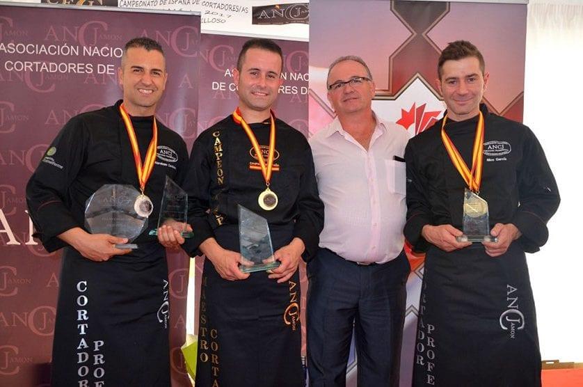 El jumillano Pablo Martínez se proclama Campeón de España de Cortadores de Jamón