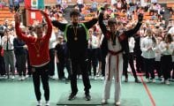 Cuatro medallas para los taekwondistas jumillanos en el Regional de Albacete