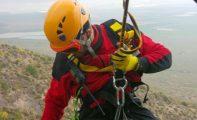 Rescatan a un senderista en la Sierra del Picacho de Jumilla