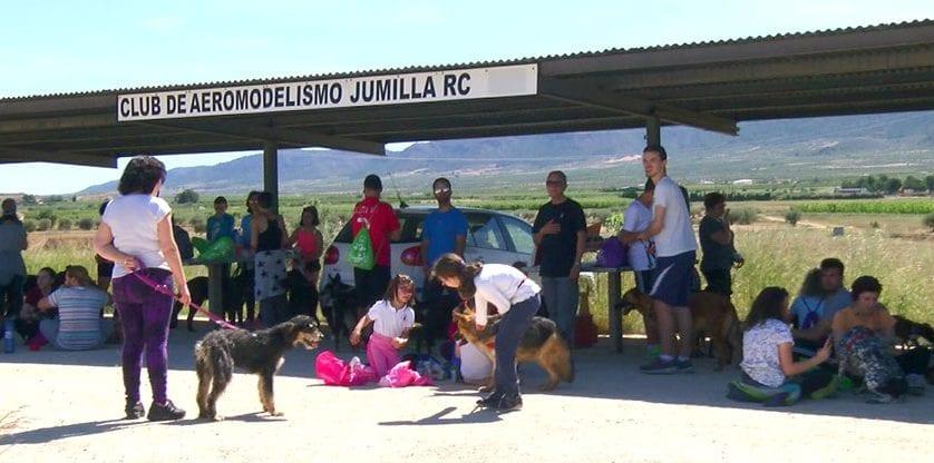 """Cerca de 70 personas participaron en la VII Marcha Solidaria """"Ladra, camina y aprende"""""""