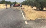 Nuevo accidente de tráfico en la Carretera del Carche