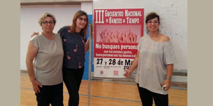 Jumilla asistió al III Nacional de Bancos del Tiempo celebrado en San Javier