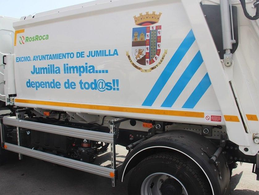 A partir del primer lunes del próximo julio la recogida de basura en Jumilla se realizará por la mañana