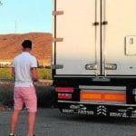 La Guardia Civil intercepta en Jumilla a un camionero que dio positivo en consumo de cannabis y anfetaminas