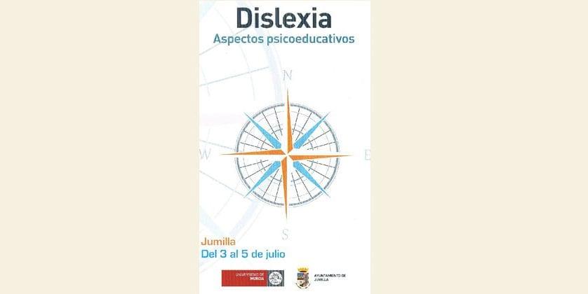 El lunes comienza el curso sobre Dislexia que la Universidad Internacional del Mar va a realizar en Jumilla
