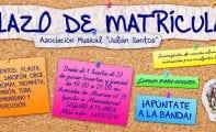La Asociación Musical Julián Santos abre el plazo de matrícula para su Escuela de Música