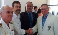 Los Templarios de Jumilla rinden homenaje en Cartagena al inventor del submarino Isaac Peral en el aniversario de su nacimiento