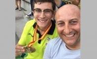 Juan González se proclama Campeón Juvenil de España en los 200 metros
