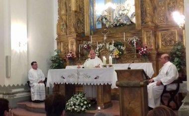 Con una Misa en San Agustín terminaron los actos celebrados durante mayo en honor a la Patrona