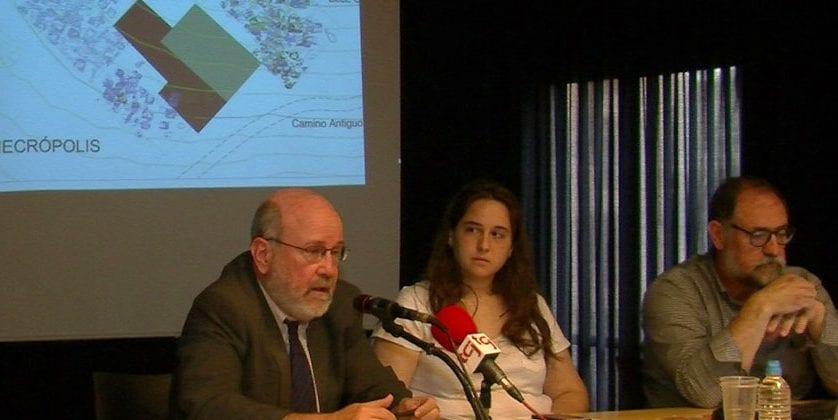 Presentado el Plan Director de la Excavación Arqueológica de Coímbra del Barranco Ancho