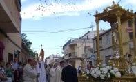 La Procesión del Corpus contó con la participación de numerosos fieles