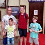 El Club de Ajedrez Coimbra participó en el II Torneo del Mar Menor