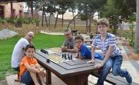 El Club Coimbra estuvo en el III Festival Infantil 'Ajedrízate'