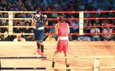 Doce púgiles se subieron al ring en la Velada de Boxeo de Jumilla