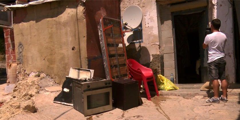 Declarado un incendio en una vivienda del Primer Distrito en Jumilla
