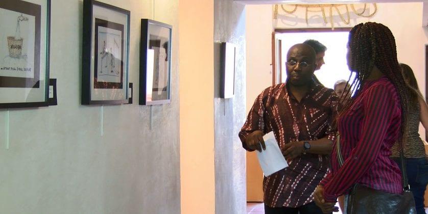 El Plan de Espacios Expositivos de Cultura trae a Jumilla las obras del artista Ndukwe Ogwe
